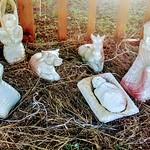 Presepe africano in pietra saponaria