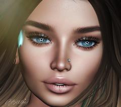 being the star (babibellic) Tags: secondlife sl glamaffair avatar aviglam portrait people blogger beauty babigiobellic bento babibellic