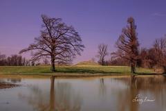 Towosahgy State Historic Site (LarryHB) Tags: 2015 americana connection horizontal iconofsemo missouri missouristateparks park pond tree