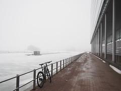 2019 Bike 180: Day 52, March 15 (olmofin) Tags: 2019bike180 finland bicycle espoo polkupyörä jää ice sea meri keilasatama keilaniemi