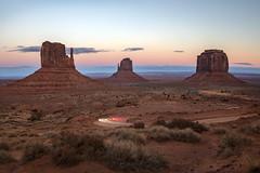 The Billygoat Highway (Ramen Saha) Tags: monumentvalley navajonations navajotribalpark mittens merricksbutte eastmittenbutte westmittenbutte arizona utah ramensaha nothdr