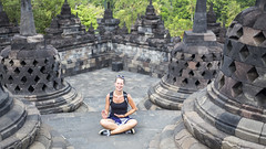 Borubudur (Hans van der Boom) Tags: vacation holiday asia indonesia indonesië java people borubudur id