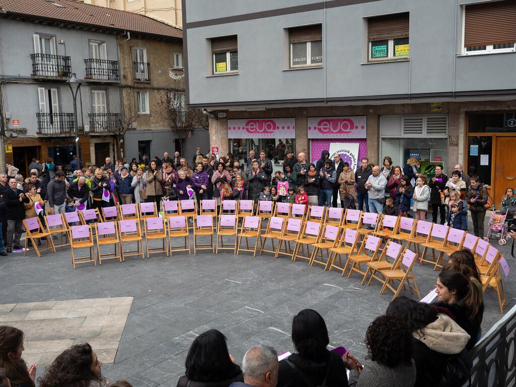Concentración en la Plaza Cardenal Orbe