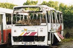 Bus Eireann TE30 (89D21530). (Fred Dean Jnr) Tags: buseireann leyland tiger alexander te te30 89d21530 roxborodepotlimerick december1998 fire scrap limerick
