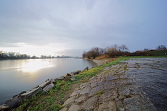 Donau (MikeSolfrank) Tags: fluss donau wasser ufer elemente düster herbst bayern bavaria outside nature light art sky winter river water