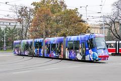 BRN_1920_201811 (Tram Photos) Tags: skoda škoda 13t brno brünn strasenbahn tram tramway tramvaj tramwaj mhd šalina dopravnípodnikměstabrna dpmb vollwerbung ganzreklame