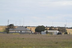 Single house located south of the Princes Freeway railway overpass at Corio (Marcus Wong from Geelong) Tags: princesfreeway princeshighway geelong melbourne road freeway motorway highway
