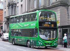 Dublin Bus WH1 (08D69001). (Fred Dean Jnr) Tags: dublinbus wright pulsar gemini hev vdl db250 wh1 08d69001 southgreatgeorgesstreetdublin dublin august2010 pij601 busathacliath demonstrator shill dublinbusroute16