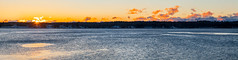 Simpson's Point  Sunrise (Me in ME) Tags: brunswick maine snow sunrise winter cold ice morning panorama explore