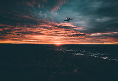Fly baby Fly (Tim RT) Tags: tim rt reutlingen tuebingen germany south fly drone color sunset sky burn yellow orange teal hypebeast djiglobal dji mavic pro aerial photography visual inspired beautiful destination wide landscape deutschland new picture love awesome creation