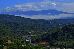 Backyard of Taichung 大坑風景區 (mattlaiphotos) Tags: 大坑 台中 taichung taiwan countryside scenery landscape sky mountains village