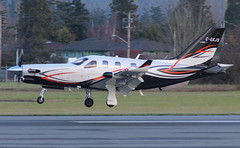 C-GXJS Atlantis Aviation Limited Partnership Socata TBM-930@YYJ 02Dec18 (Spotter Brandon) Tags: cgxjs atlantisaviationlimitedpartnership tbm socata socatatbm tbm700 tbm930 yyj cyyj victoria