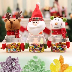 Christmas Candy Jars Cum Food Storage Containers (mywowstuff) Tags: gifts gadgets cool family friends funny shopping men women kids home