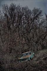 Abandoned Dodge pickup (La Chachalaca Fotografía) Tags: dodge pickup truck camion abandoned abandonado abandonné oregon pentaxkp