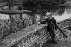 Arthur's best 90s album cover pose (timnutt) Tags: sizergh sizerghcastle cumbria 35mm children garden xt2 bw acros monochrome lancashire mono fuji fujichrome family blackandwhite 35f2wr fujifilm