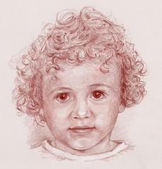 Rune (Linda Vanysacker - Van den Mooter) Tags: portrait portret visiblytalented vanysacker vandenmooter tekening sketch lindavanysackervandenmooter lindavandenmooter drawing dessin child kind rune 2018 sanguine