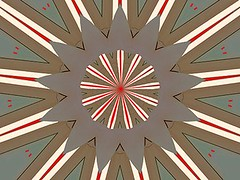 Fade (Kombizz) Tags: c42 kombizz kaleidoscope experimentalart experimentalphotoart photoart epa samsung samsunggalaxy fx abstract pattern art artwork geometricart red fadebrown white lines halima redhalima fade