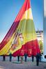 Izado de la bandera española en el día de la Constitución. (06/12/2018)