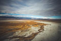 The Delta (Shutter Theory) Tags: owensvalley owenslake owensriver california eventhewatercommutestolosangeles waterwars cadillacdesert delta river aerial