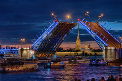 Traffic under the Palace Bridge (swissgoldeneagle) Tags: nacht kathedrale nighshot d750 nikon nikon80400mmvr church russianfederation ленинград петропавловскийсобор boats tourists russischefoederation раскрывающийсямост lights thepalacebridge spb schlossbrücke klappbrücke foederationskreisnordwestrussland leningrad дворцовыймост schlossbruecke bruecke night русскаяправославнаяцерковь russischorthodox russianorthodox basculebridge cathedral nordwestrussland мост kirche nikond750 saintspeterandpaulcathedral russia peterundpaulkathedrale dunkel newa föderationskreisnordwestrussland palacebridge нева nachtaufnahme russischeföderation klappbruecke российскаяфедерация petrograd санктпетербург dark northwesternfederaldistrict saintpetersburg nevariver russianorthodoxchurch россия рф bridge северозападныйфедеральныйокруг brücke stpetersburg спб sanktpetersburg петроград