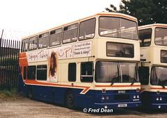 Dublin Bus RH94 (91D1094). (Fred Dean Jnr) Tags: july2003 dublin broadstone broadstonedepotdublin buseireannbroadstonedepot busathacliath dublinbus rh94 91d1094 leyland olympian alexander r dublinbusbluecreamlivery h155pvw nil8567 rend