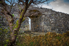 Nakagusu Jo Castle, Okinawa, Japan (Peter Schneiter) Tags: traveljapan asia asian castle nakagusu okinawa japan japanese fortress gate gateway entrance