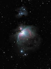 Orion Nebula (markkilner) Tags: canon eos 80d dslr broadstairs kent england kilner televue tv60 televue60 telescope apo astronomy astrophotography deepsky stars space vixen superpolaris longexposure nightsky skytelescope skyatnight backyardeos deepskystacker m42 m43 orion nebula ngc1976 runningmannebula sh2279 ngc1977 messier42 astrometrydotnet:id=nova3109319 astrometrydotnet:status=solved