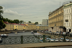 A0036SPBb (preacher43) Tags: st petersburg russia building architecture history canal island river boats autos water
