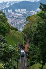 Penang Hill Train (CMGS1988) Tags: