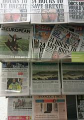 January 14th, 2019 Challenge Friday 2019, week 2, theme politics (2) Today's UK newspapers (karenblakeman) Tags: challengefriday cf19 politics newspapers brexit 2019 2019pad january uk