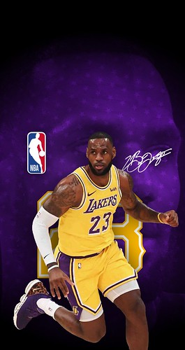 23 Lebron James Los Angeles Lakers Iphone 6 7 8 Wallpaper A Photo On Flickriver