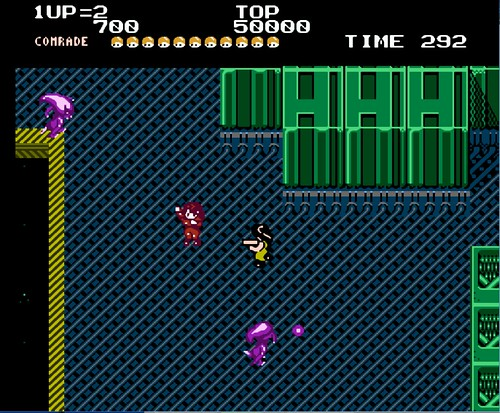 Alien Syndrome NES