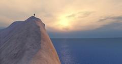 wild edge_006colour (www.artefactory.ch) Tags: secondlife virtualworld mountains sunset climb sky