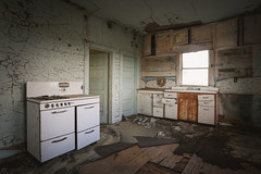So you like textures (No Stone Unturned Photography) Tags: abandoned kitchen home house urbex rural
