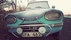 P1070205vf (hans hoeben) Tags: ami winter blues panasonic lx3 hans hoeben swedish rally citroen blue frost amsterdam holland adm