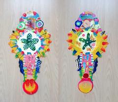 pla-fish6 (Albert_Roos) Tags: cobra colorfullsculpture creature mask face printwaist filament 3dprint 3d print waist