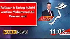 Pakistan is facing hybrid warfare Muhammad Ali Durrani said (Zedflix) Tags: zedflix zflix live streaming news talkshows