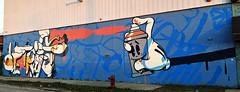 Detroit by Slick (wiredforlego) Tags: graffiti mural streetart urbanart aerosolart publicart detroit michigan dtw mitm slick easternmarket
