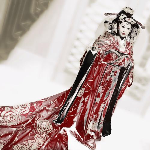 Asiatic princess (composite)