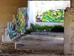 discovering... (nothinginside) Tags: discovery discover hidden places manoel island malta gzira urbex decay urban abandoned building graffiti art pop street murales walls 2019