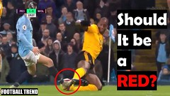 Willy Boly tackle on Bernardo Silva almost identical w/ Kompany on Salah but has different Outcome (triettan.tran) Tags: willy boly tackle bernardo silva almost identical w kompany salah but has different outcome