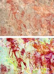 8956 - EKUTA (HerryB) Tags: 2013 southafrica southwest afrique afrika namibia südwest sonyalpha77 heribertbechen tamron alpha bechen fotos photos photography sony herryb rockart rockpaintings peintres rupestres petroglyph san zeichnungen felszeichnungen höhlenmalerei paintings bushmen buschmänner dstretch harman jon jonharman enhance falschfarben restauration digitalenhanced enhancement verwitterung granit granite enhanced ekuta abri halbhöhle überhang aiaiba hinterholzer erongo erongogebirge