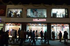 Milans shop Leicester 2019 (KiranParmar) Tags: milans sare sari shop belgrave road goldenmile indians 50th 2019 1969 first chauhan lady vijyaben 1stsareeshop window display