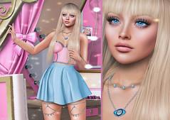 L238 (JoJo Delvalle - Photographer & blogger) Tags: secondlife game virtual 3d doll pink cute genusproject letre rama ramasalon aviglam cosmopolitan safira eclat belleposes persefona astralia fameshed