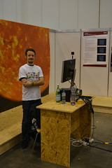 Florian Cabot who is developing Virtual Reality tools for the Observatory of Geneva.