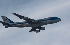 Close up Special Air Mission 41 (barrob photos) Tags: 41stpresidentoftheunitedstates airforceone finalflight georgehwbush airplane godblessamerica goinghome specialairmission41