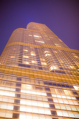 Chicago and a Building Named Trump (Thomas Hawk) Tags: america chicago cookcounty donaldtrump hotel illinois som skidmoreowingsandmerrill trump trumpinternationalhotelandtower trumptower trumptowerchicago usa unitedstates unitedstatesofamerica architecture fav10 fav25