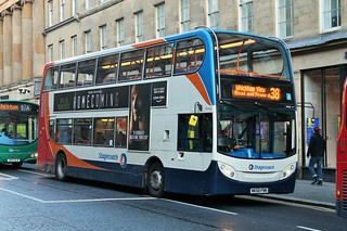 Stagecoach North East 19446, NK58 FNN (ADL Trident / Enviro 400)