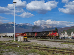Goods Train (anthsnap!) Tags: canada canadianrockies jasper alberta train railway