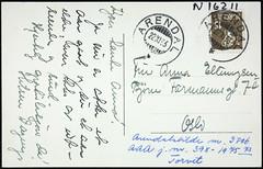 Postkort fra Agder (Avtrykket) Tags: frimerke porto postkort arendal austagder norway nor